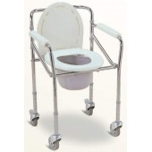 Commode Chair With Wheel