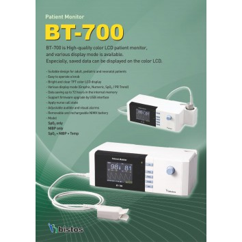 Pulse Oximeter BT-700 Bistos Korea