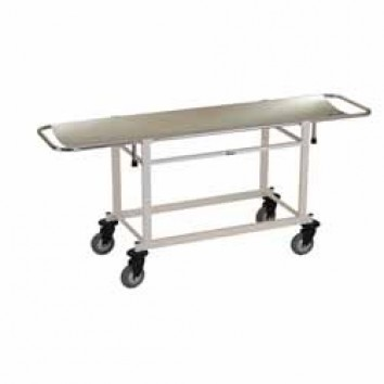 Streretcher Trolly With Steel Top