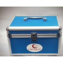 FIRST AID BOX ALUMINIUM BLUE SMALL CHINA
